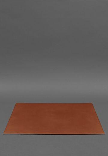 Накладка на стол руководителя - Кожаный бювар 1.0 Светло-коричневый