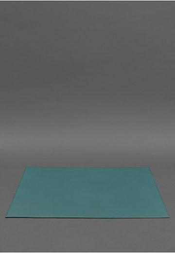 Накладка на стол руководителя - Кожаный бювар 1.0 Зеленый