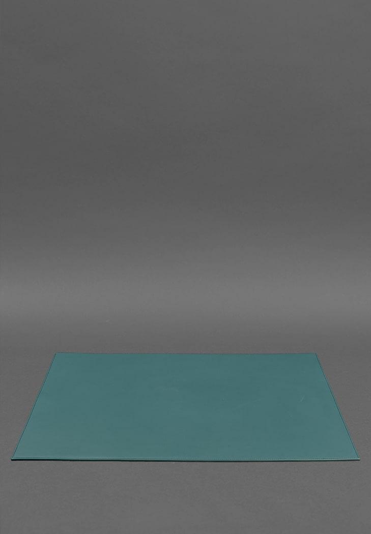 Фото Накладка на стол руководителя - Кожаный бювар 1.0 Зеленый (BN-BV-1-malachite)