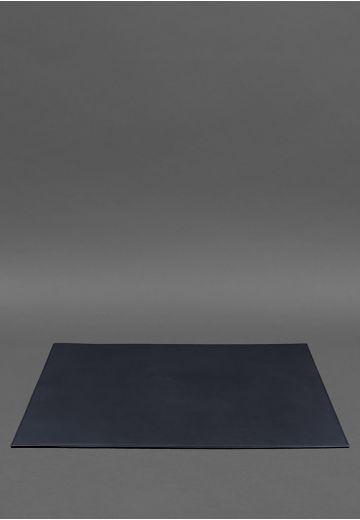 Накладка на стол руководителя - Кожаный бювар 1.0 Темно-синий