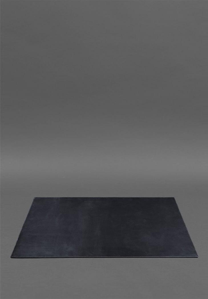 Фото Накладка на стол руководителя - Кожаный бювар 1.0 Темно-синий Crazy Horse