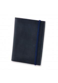 Обложка для паспорта 1.0 Ночное небо(кожа) + блокнотик