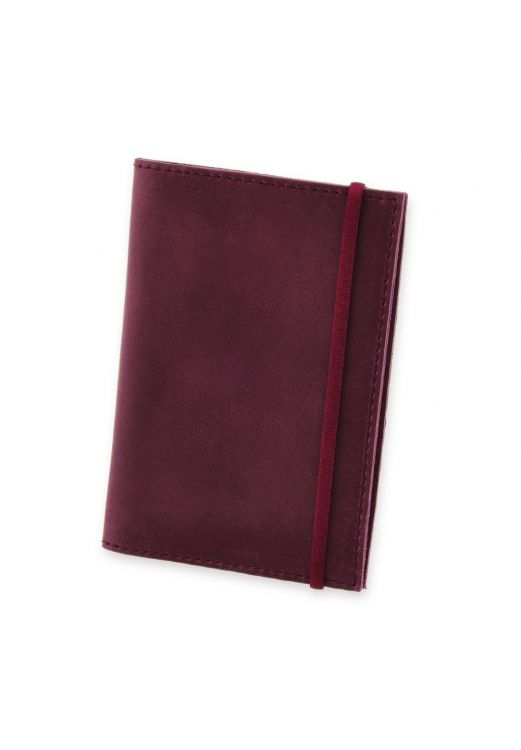 Фото Обложка для паспорта 1.0 Виноград (кожа) + блокнотик BlankNote