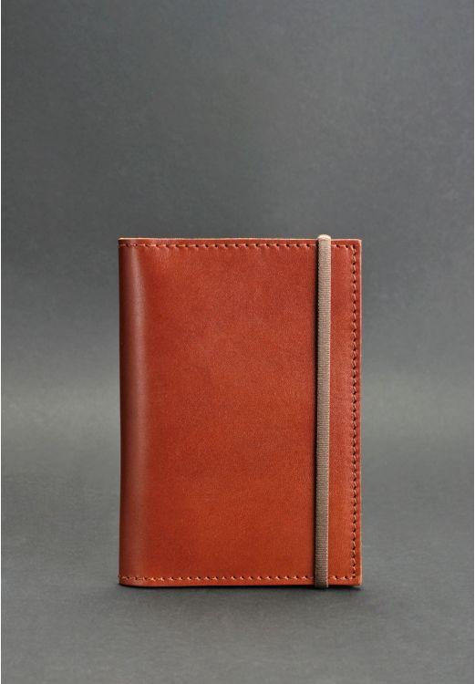 Фото Обложка для паспорта 2.0 Коньяк BlankNote