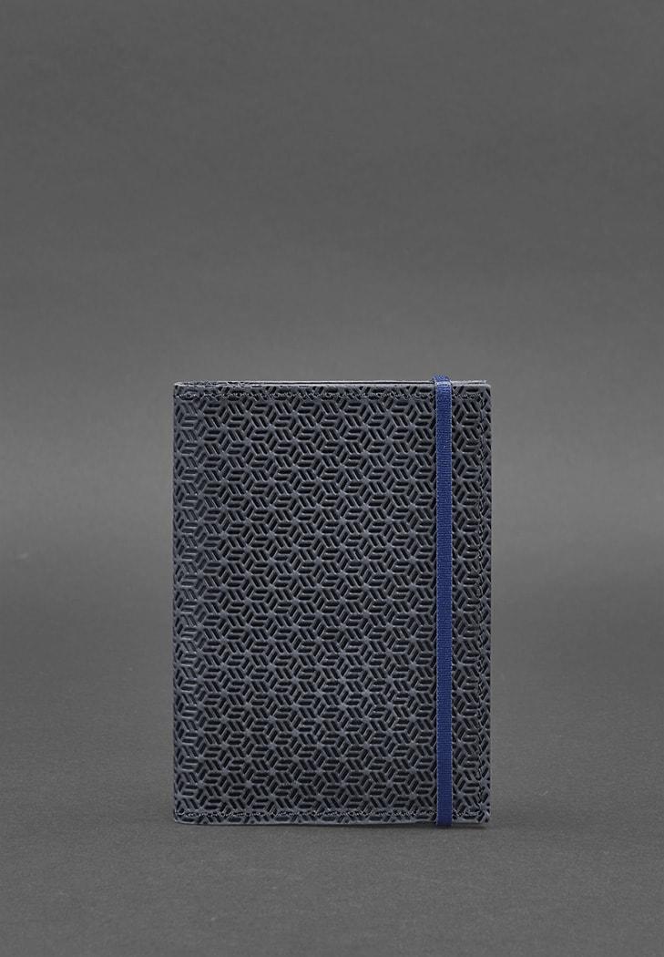 "Фото Обложка для паспорта 2.0 ""Карбон"" Ночное небо (кожа) BlankNote"