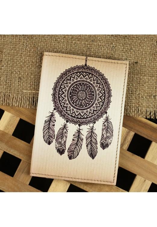 """Фото Обложка для паспорта """"Ловец снов"""" + блокнотик BlankNote"""