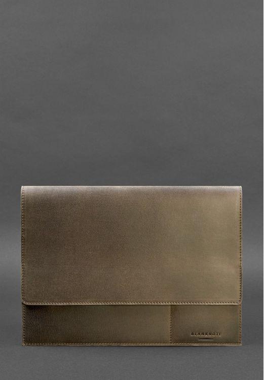 Папка для документов А4 (на магнитах) Орех - коричневая фото