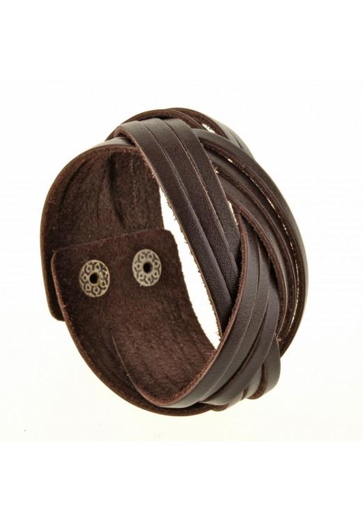 "Фото Браслет ""Косичка"" Шоколад BlankNote"