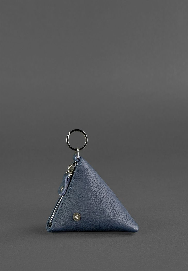 Фото Монетница 2.0 пирамида, синий