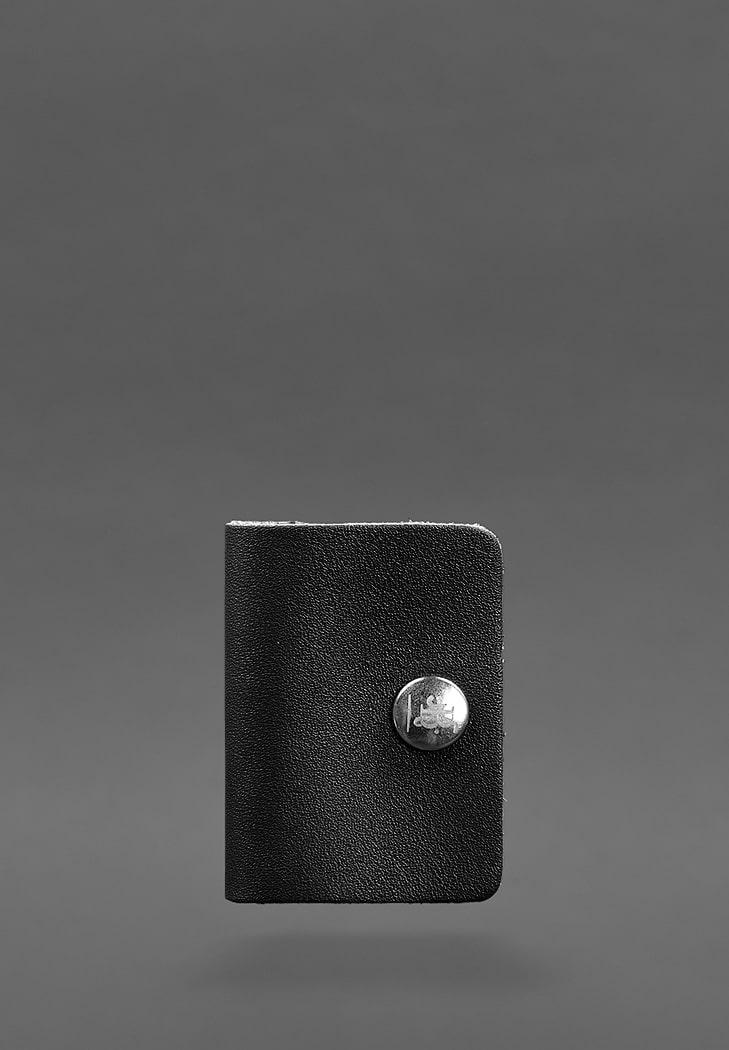 Фото Кожаный холдер для наушников 2.0 Черный