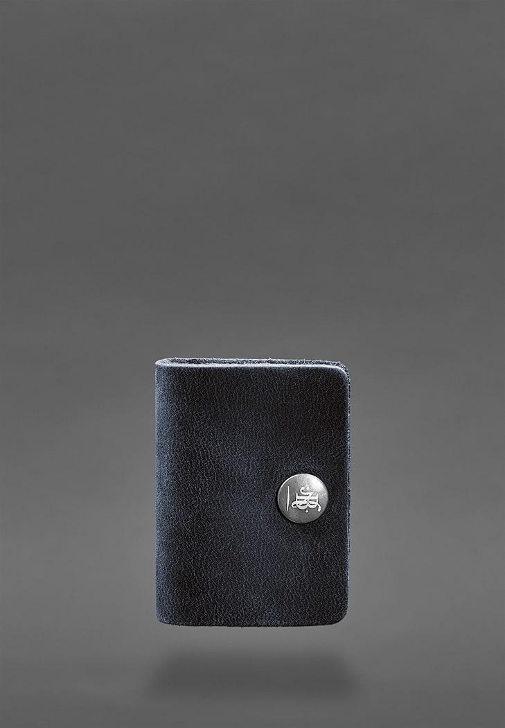 Фото Кожаный холдер для наушников 2.0 Синий