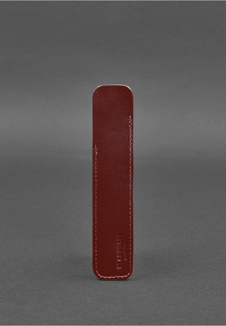Фото Кожаный чехол для ручки 2.0 Бордовый BlankNote