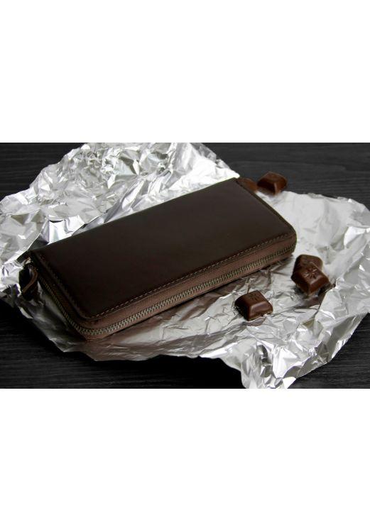 Фото Портмоне 6.0 (на молнии) Шоколад BlankNote