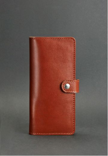 Кожаное портмоне 7.0 светло-коричневое