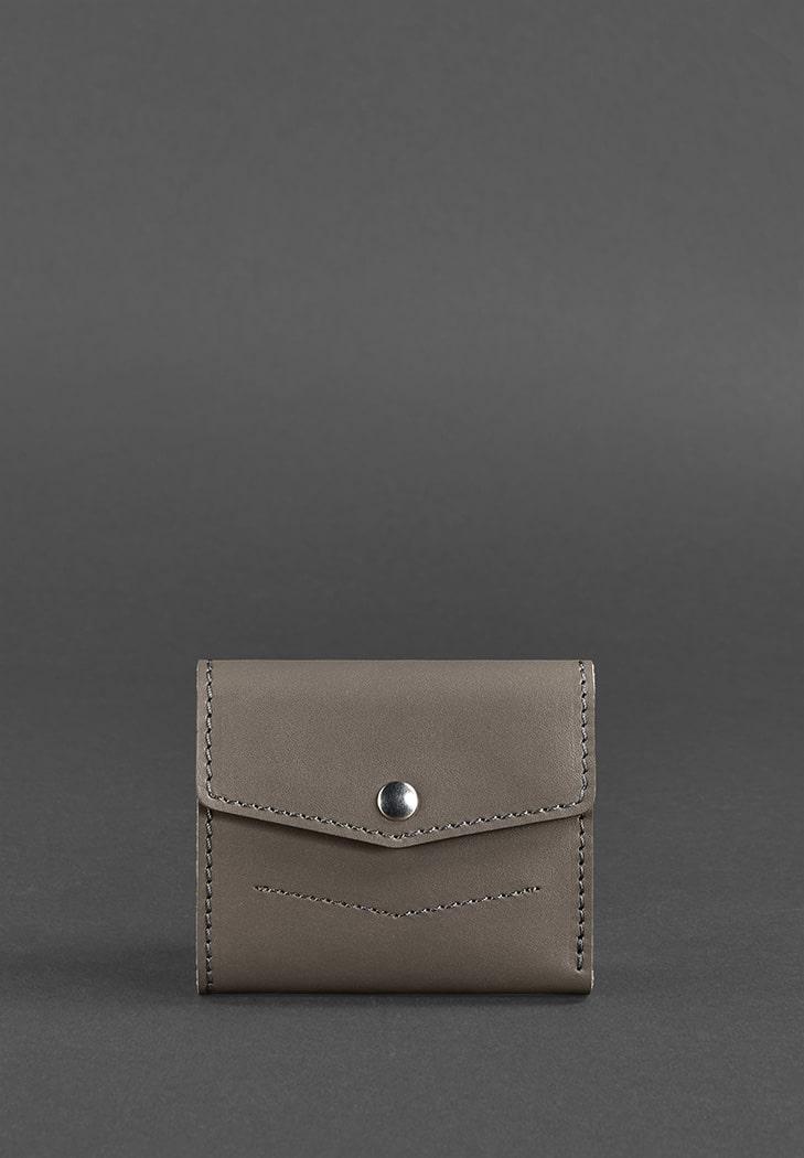 Фото Женский кожаный кошелек 2.1 темно-бежевый