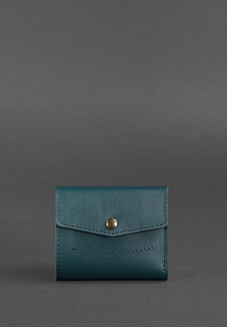 Женский кожаный кошелек 2.1 зеленый - BN-W-2-1-malachite