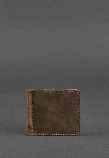 Портмоне 1.0 (зажим для грошей) Горіх - коричневий