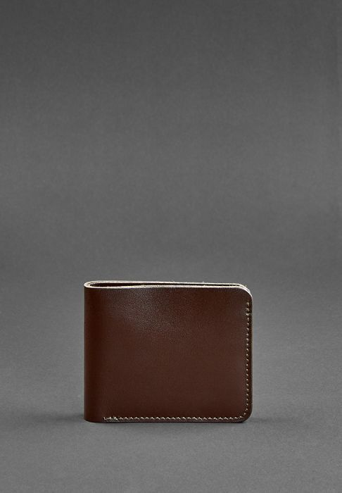 Фото Портмоне 4.1 (4 кармана) Шоколад BlankNote