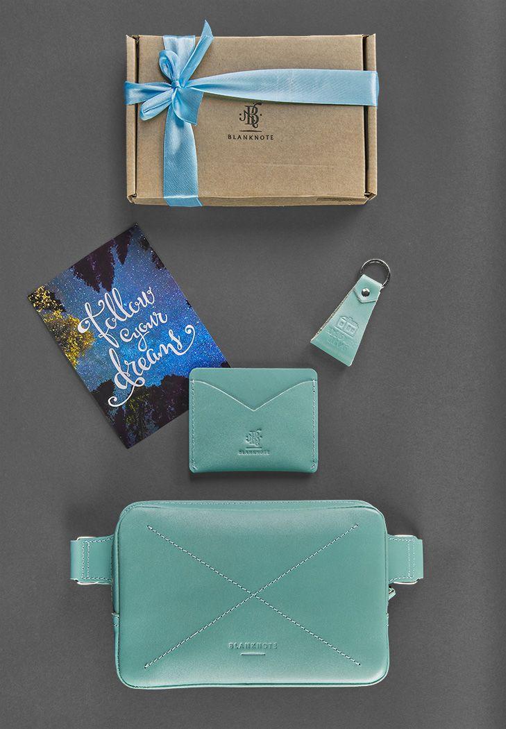 Женский подарочный набор кожаных аксессуаров DropBag Тиффани - BN-set-access-20-tiffany
