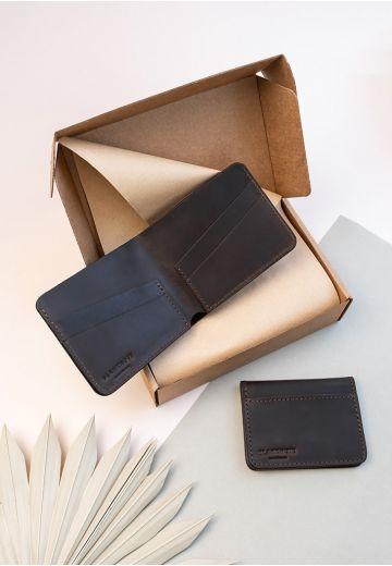 Мужской подарочный набор кожаных аксессуаров Бангкок