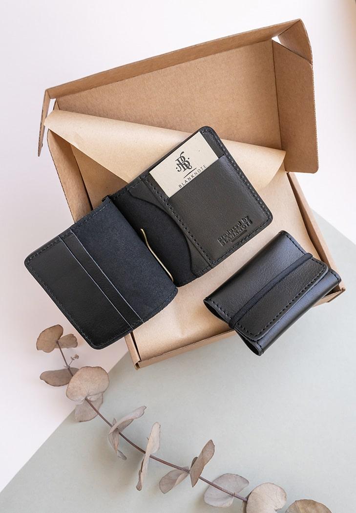 Фото Мужской подарочный набор кожаных аксессуаров Сан-Франциско