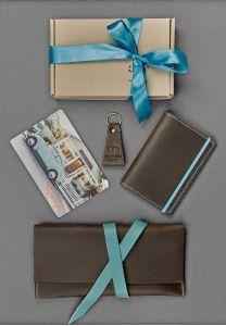 Набор кожаных аксессуаров для путешественника Флоренция