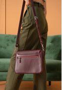 Фото Женская кожаная сумка Jessie бежевая (TW-Jessie-caramel)