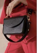 Фото Женская кожаная сумка Molly черная (TW-Molly-g)