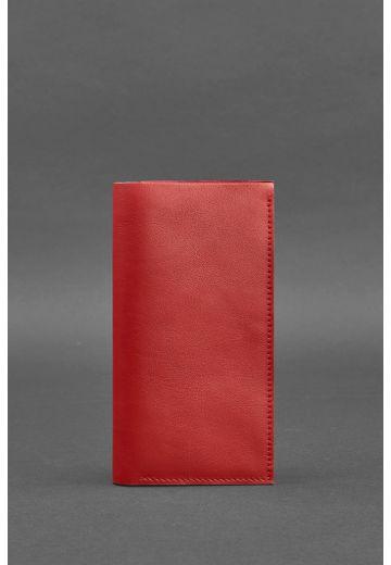 Кожаный женский тревел-кейс 3.1 Красный