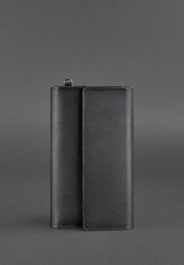Фото Кожаный клатч-органайзер (Тревел-кейс) 5.1 черный