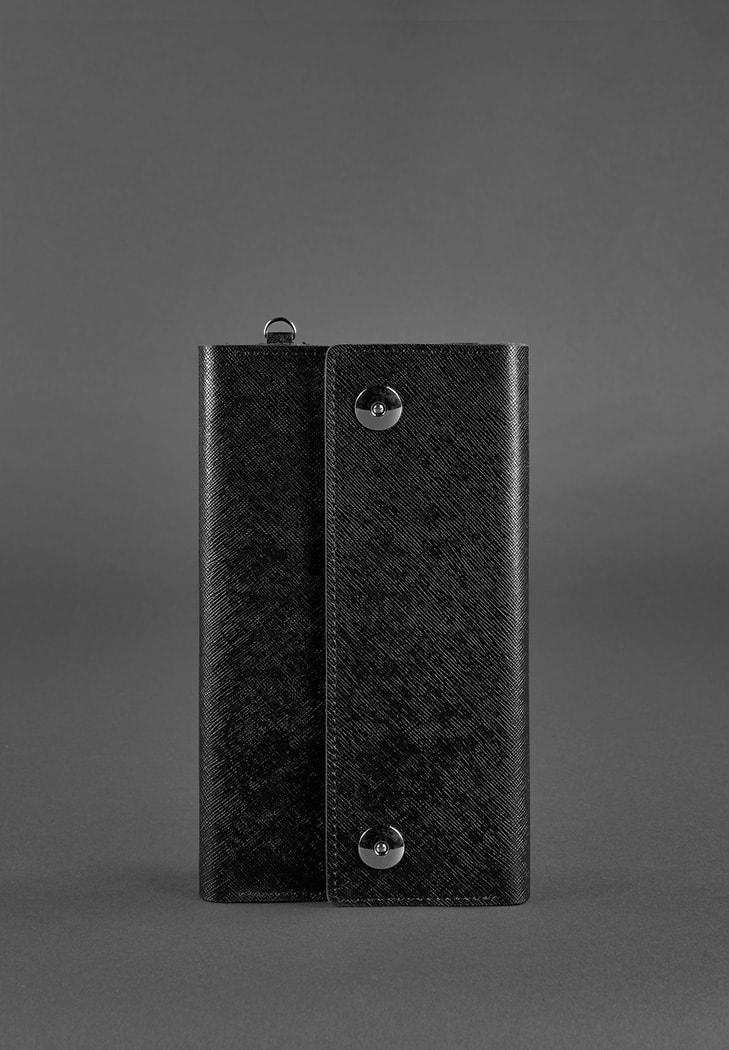 Фото Кожаный клатч-органайзер (Тревел-кейс) 5.0 черный Blackwood
