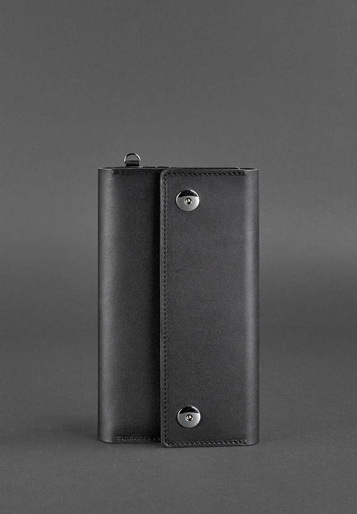 Фото Кожаный клатч-органайзер (Тревел-кейс) 5.0 черный