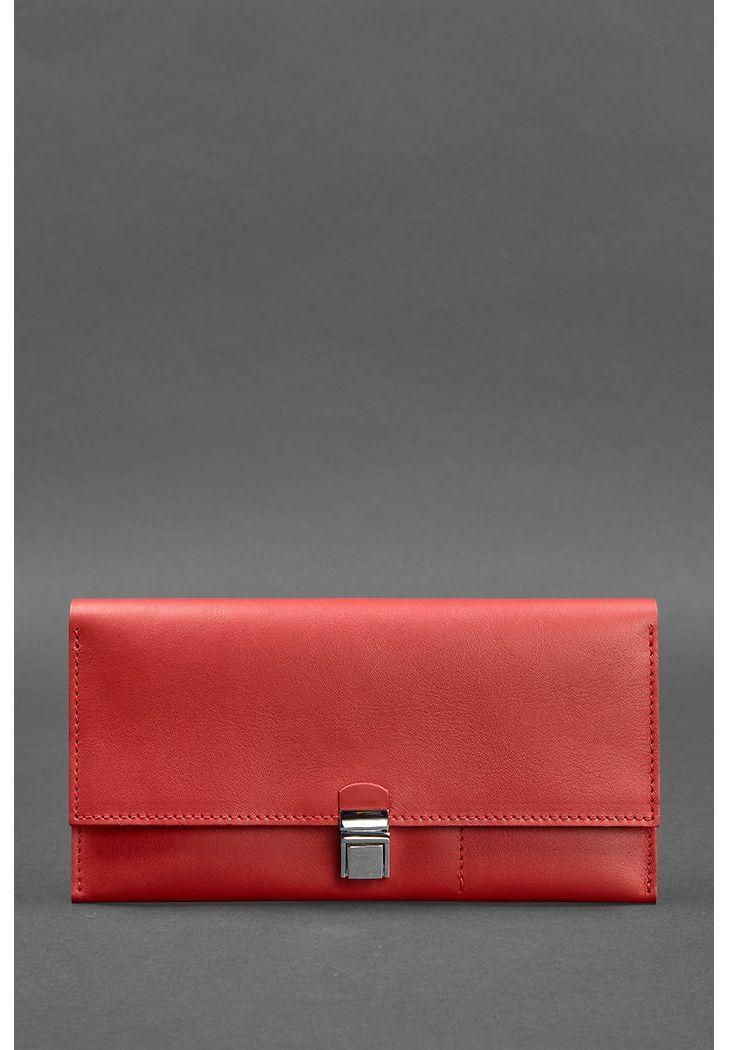Кожаный женский тревел-кейс Journey 2.0 Красный - BN-TK-2-red