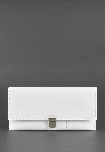 Кожаный женский тревел-кейс Journey 2.0 Белый