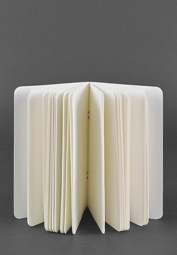 Фото Тетрадь для софт-бука без принта (Молочная, Стандарт)