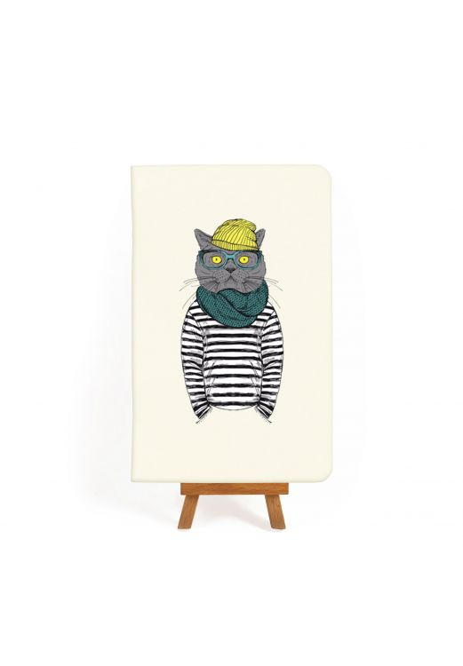 "Фото Тетрадь ""Hipster cat #2"" BlankNote"