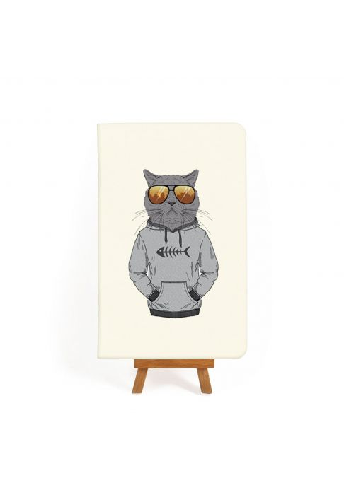 "Фото Тетрадь ""Hipster cat #3"" BlankNote"