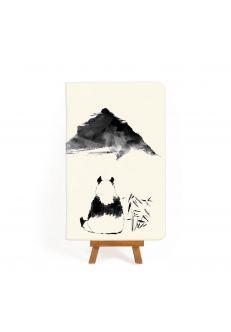 Тетрадь Панда: черно-белые зарисовки #3