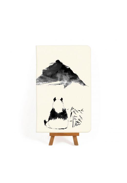 "Фото Тетрадь ""Панда: черно-белые зарисовки #3"" BlankNote"