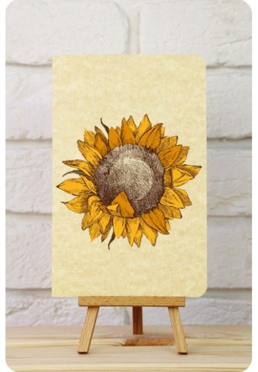 "Фото Тетрадь ""Солнечный цветок"" BlankNote"