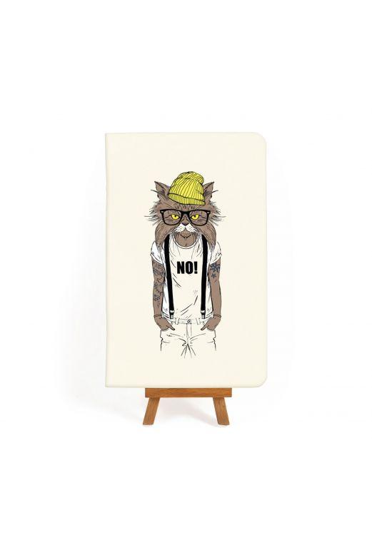 "Фото Тетрадь ""Hipster cat #1"" BlankNote"