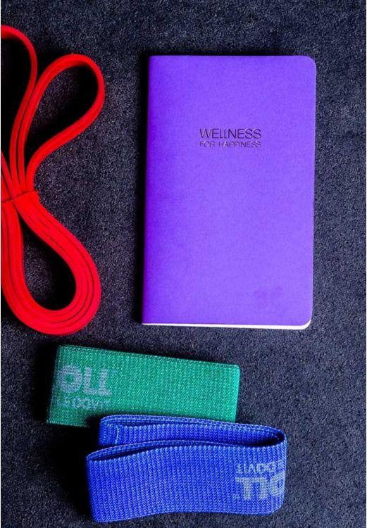 Фото WELLNESS FOR HAPPINESS дневник для контроля и планирования режима дня и питания BlankNote