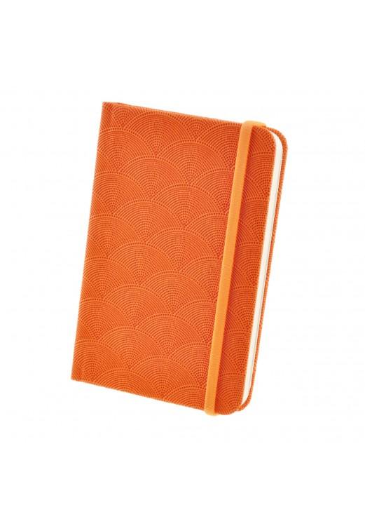 Фото Карманный блокнот БланкНотик (оранжевый, волны) BlankNote