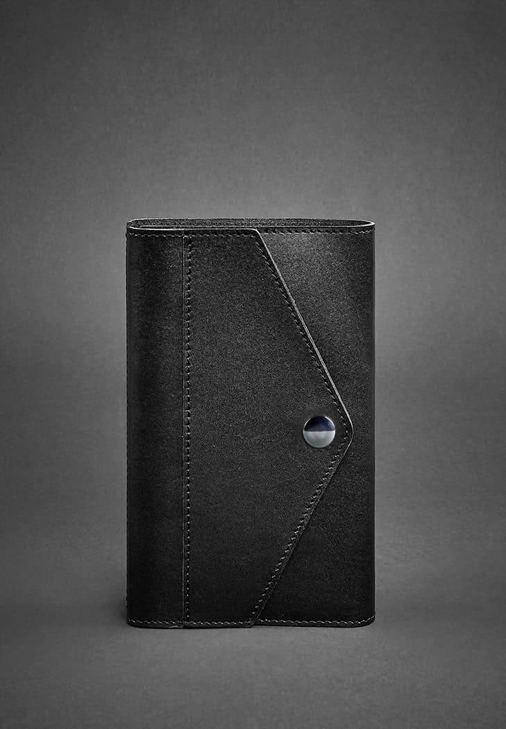 Фото Кожаный блокнот (Софт-бук) 2.0 черный