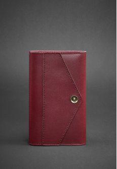 Кожаный блокнот (Софт-бук) 2.0 Виноград