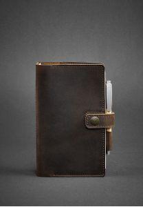 Кожаный блокнот (Софт-бук) 4.0 Орех - коричневый