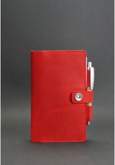 Кожаный блокнот (Софт-бук) 4.0 Коралл