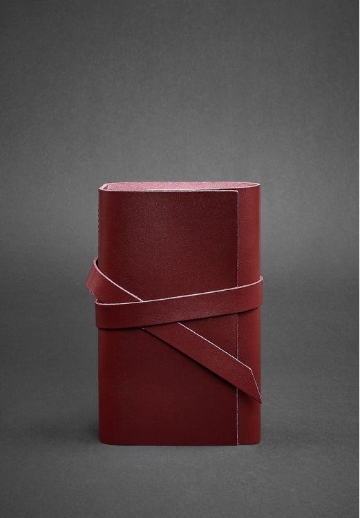 Фото Кожаный блокнот (Софт-бук) 1.0 Виноград BlankNote