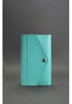 Кожаный блокнот (Софт-бук) 2.0 Тиффани