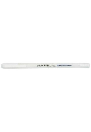 Ручка гелевая SAKURA Gelly roll (белая)